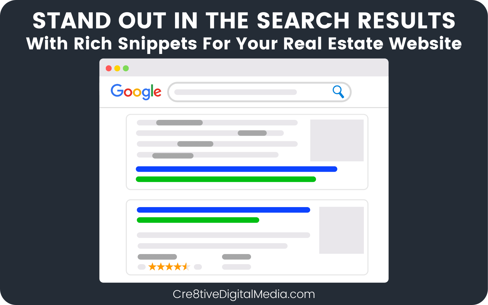Rich Snippets Will Help Your Real Estate Agency Stand Out In search results