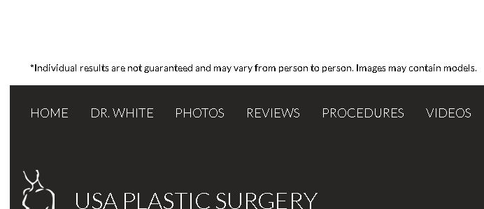 USA Plastic Surgery - Dr. Steven J. White reviews