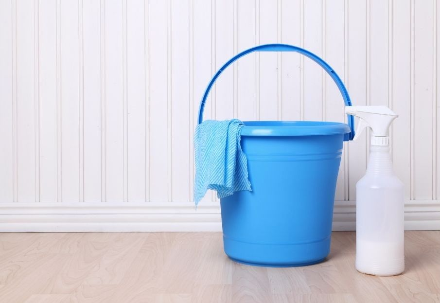 must have cleaning supplies - pails