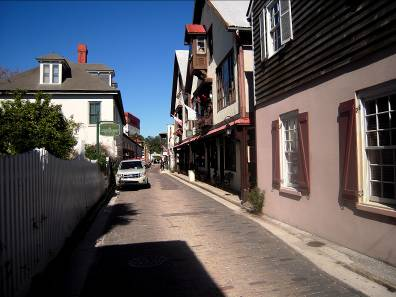 The Narrow Streets of St. Augustine