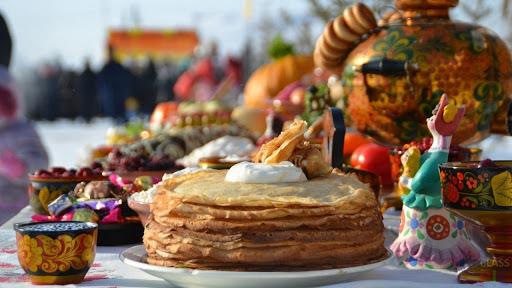 Russian pancake festival