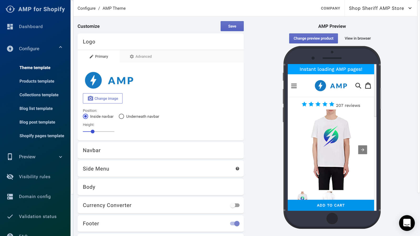 Use AMP apps to make your Shopify store faster