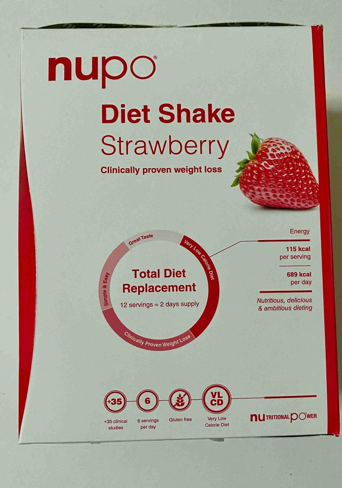 Recenze Vivantis: Dieta NUPO - shake s příchutí jahoda