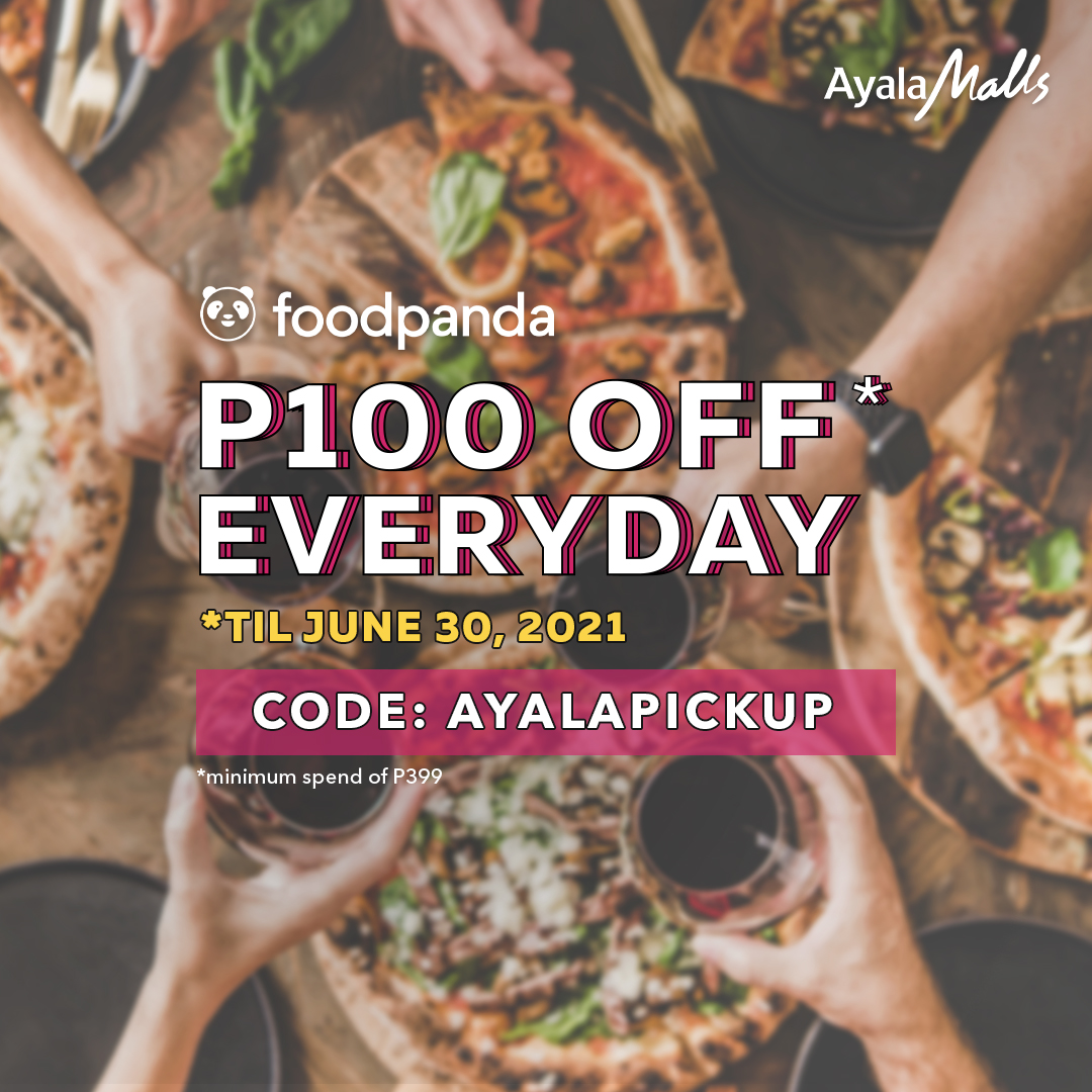 Get a Daily Discount of P100 from Ayala Malls!