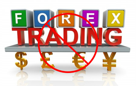 forex trading banned countries