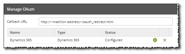 Dynamics 365 3rd Party OAuth