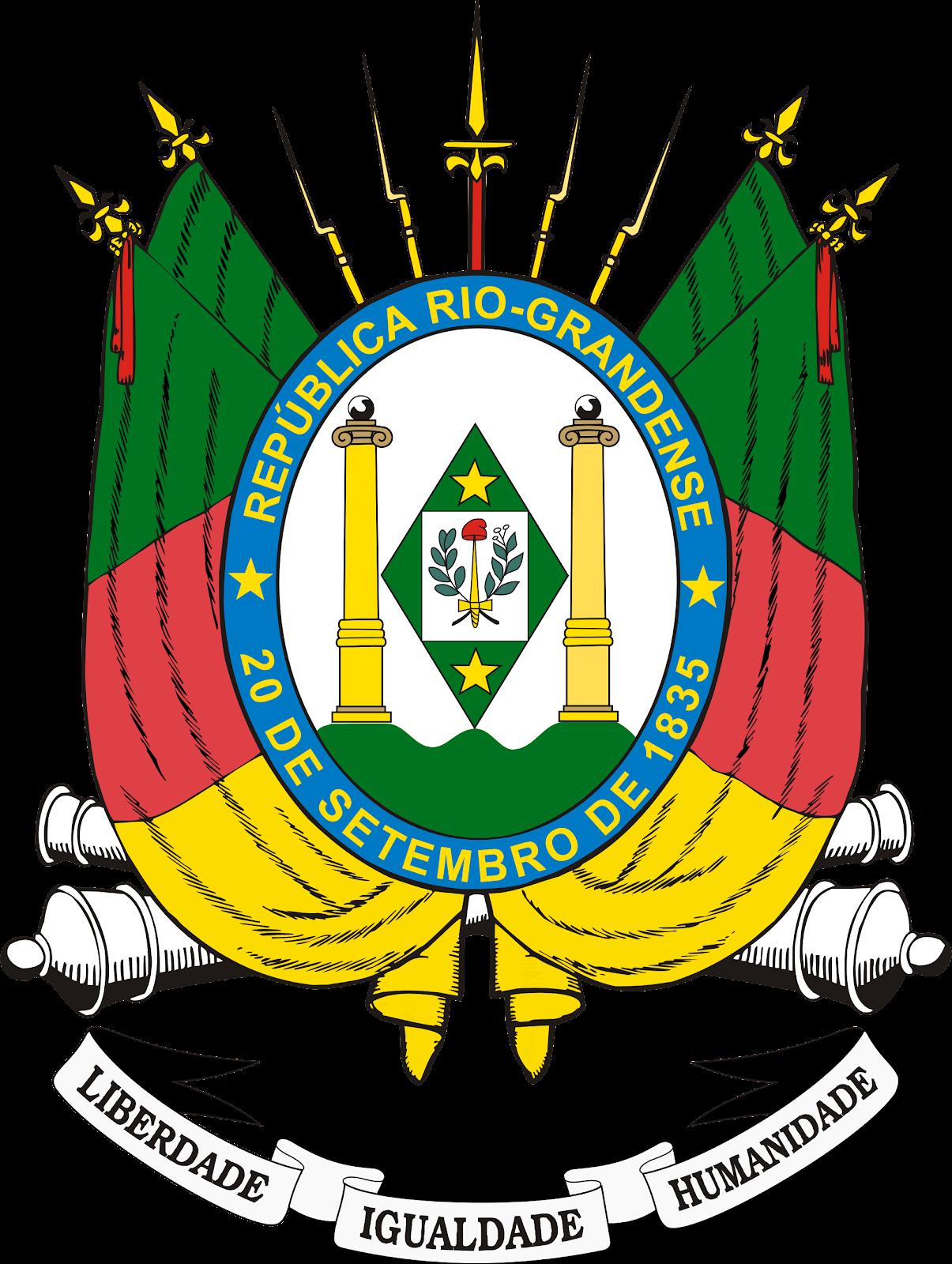 Brasão do Rio Grande do Sul.