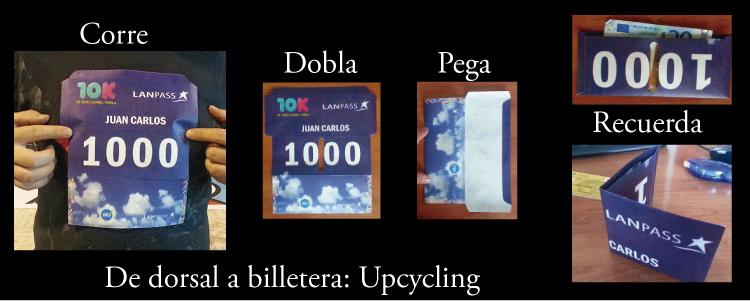 Upcycling: convertir lo descartable en perdurable. Entran 6 por pliego.
