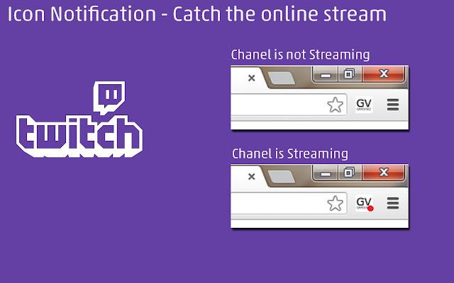 Twitch Stream chrome extension