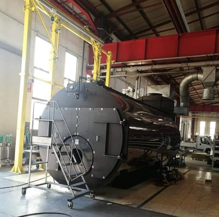 Steam boiler, 12 ton -Italy