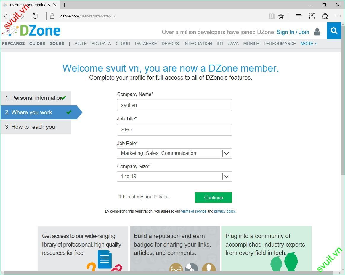Backlink trên dzone.com(4)
