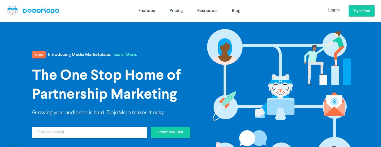 a graphic of the DojoMojo platform