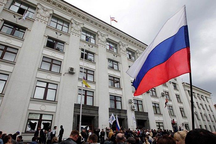 Захоплення Луганської ОДА 9 березня 2014