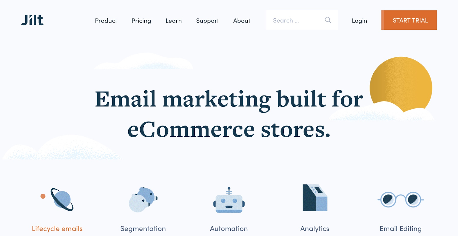 Shopify app for email marketing