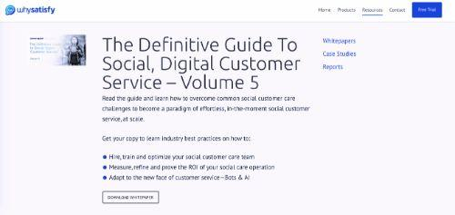 The Definitive Guide To Social, Digital Customer Service – Volume 5