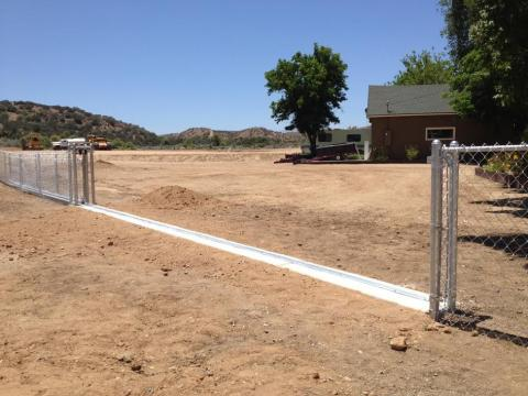 installing a rolling gate