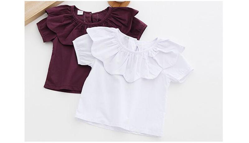 20+ uroczych fasonów bluzek z kołnierzykiem dla dziewczynki