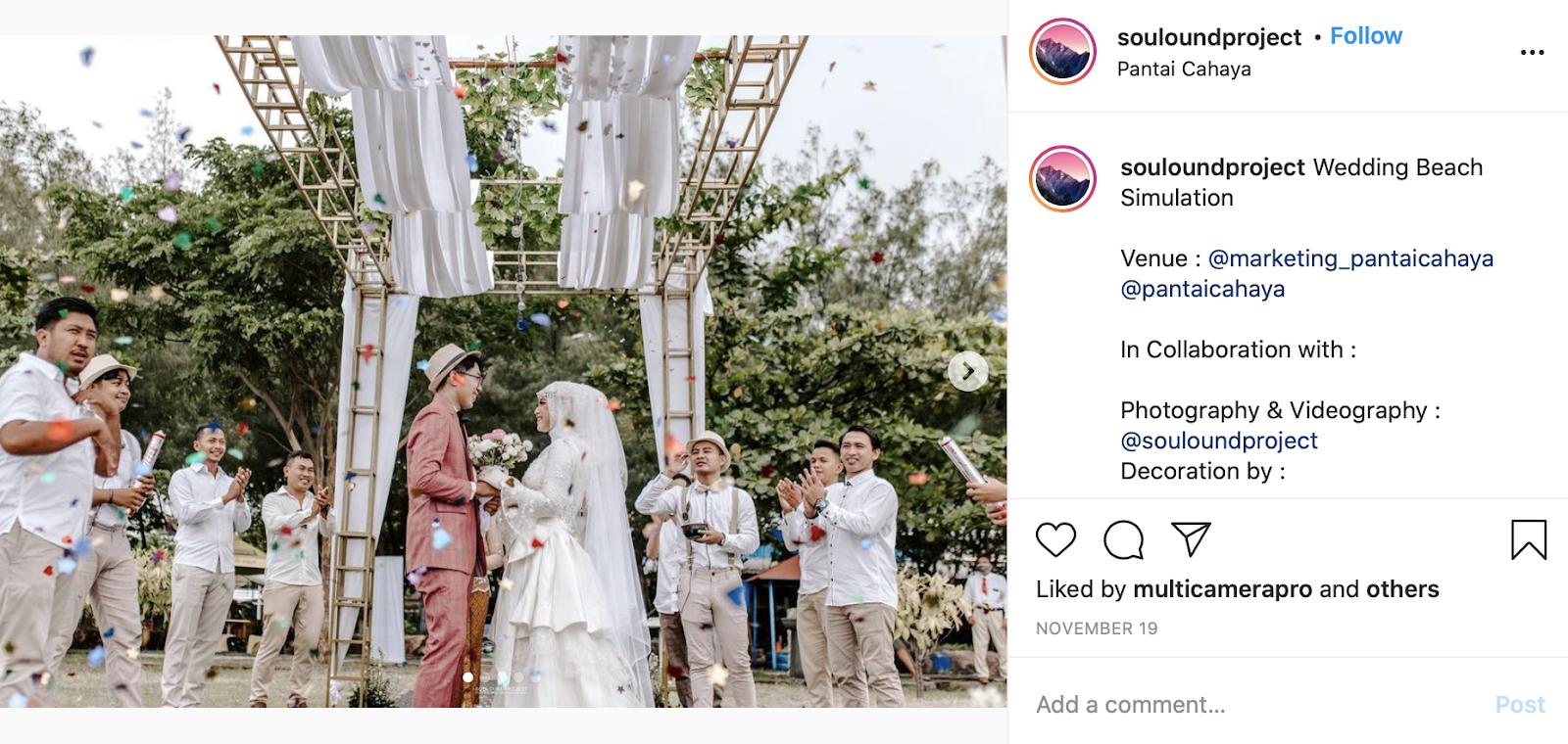 Qubool Hai at an Islamic wedding ceremony