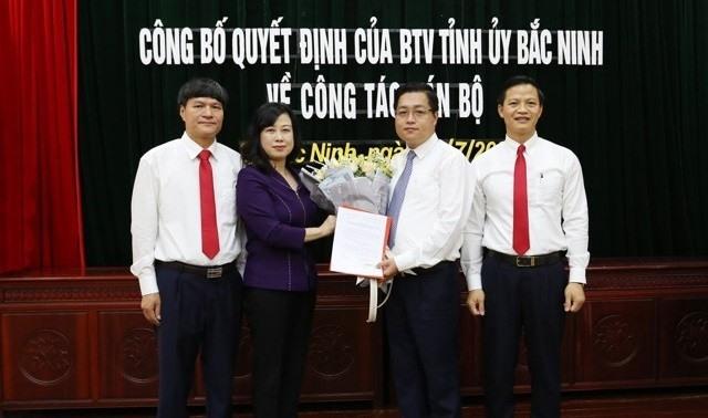 Tân bí thư 8X của TP. Bắc Ninh có bằng ĐH chuyên ngành cờ vua - Ảnh 1