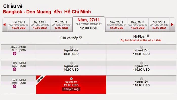 vé máy bay giá rẻ Airasia  vé khứ hồi siêu rẻ 27 USD