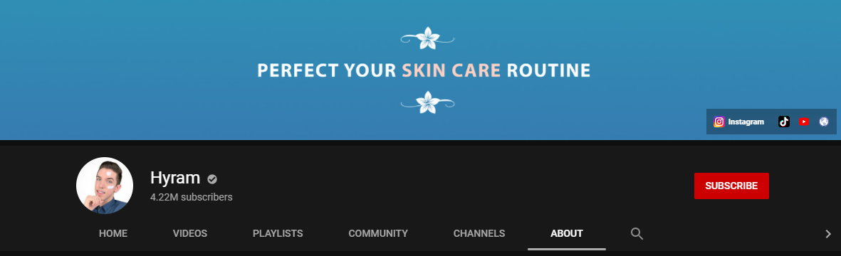 Hyram YouTube Channel