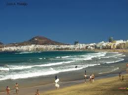 canarias windy beach