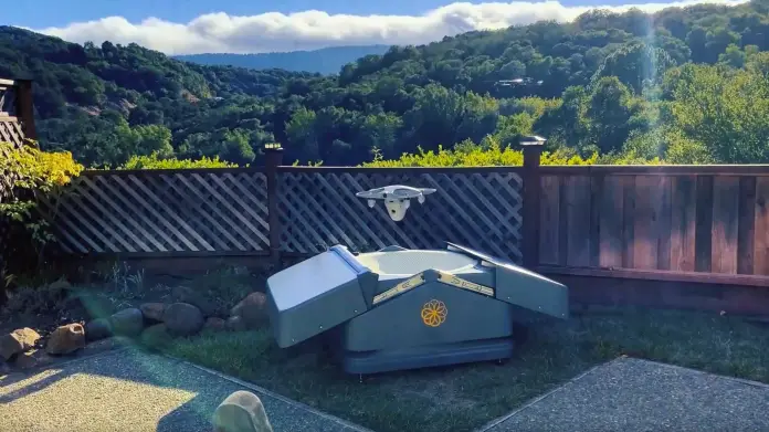 The Sunflower Home Awareness System by Sunflower Labs | Drone in a box