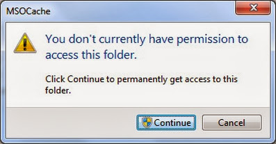 Folder access denied in Windows