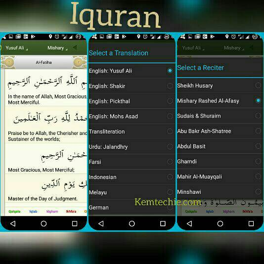 Iquran best apps for Ramadan iPhone Android