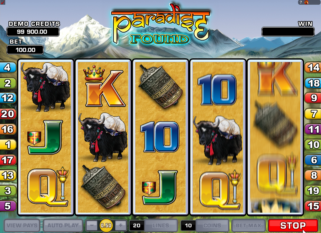 Paradise Found Slots Game Review - GamingSafe