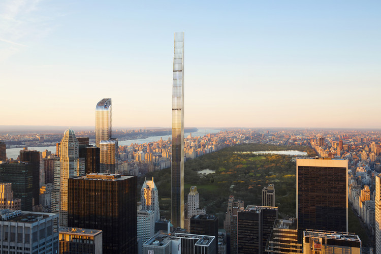111 West 57th Street. Image Courtesy of SHoP Architects