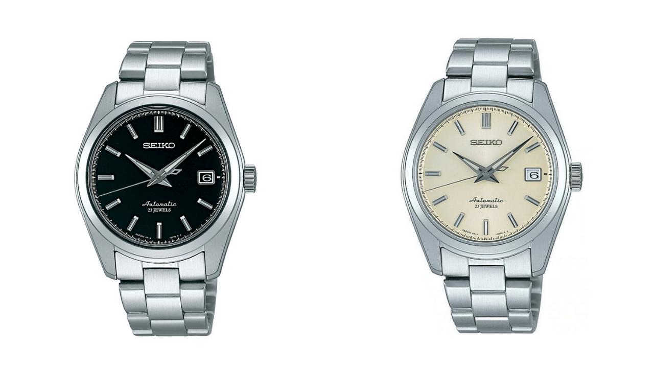 Both Seiko SARB watches - the Seiko SARB033, and the Seiko SARB035