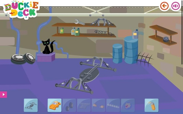 Car Building Games Garage At Duckie Deck Chrome Web Store