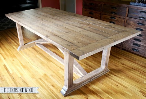 Rustic Yet Refined Wood Finish Ana White Woodworking Projects - How to stain a coffee table