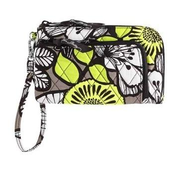 Zip Zip Wristlet in Citron
