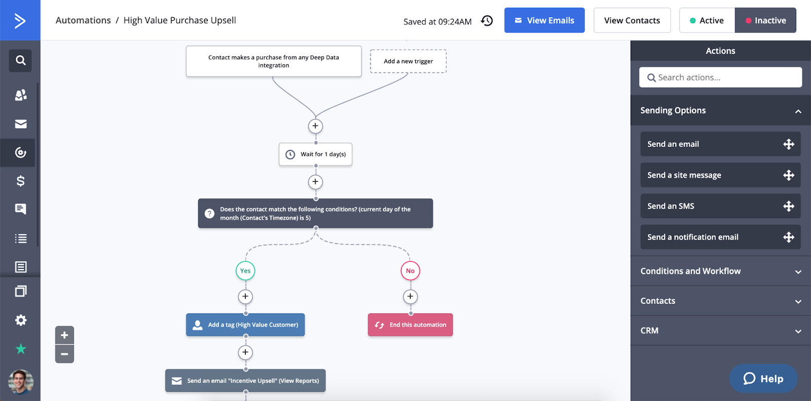 Active Campaign SaaS Email Marketing Tool