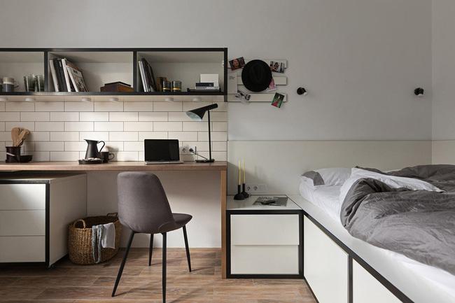 Căn hộ nhỏ vỏn vẹn gần 18m² này chứng minh cho bạn thấy ở nhà nhỏ vẫn tuyệt như nhà to - Ảnh 2.