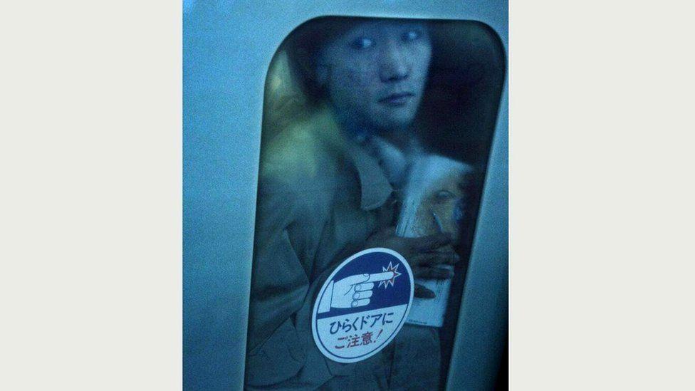 Еще одна фотография, сделанная в 1995 году, когда Вольф первый раз приехал в Токио