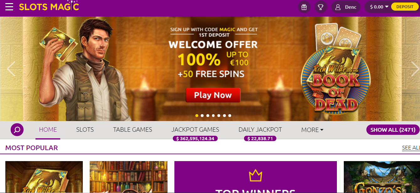 Betting on Slots Magic