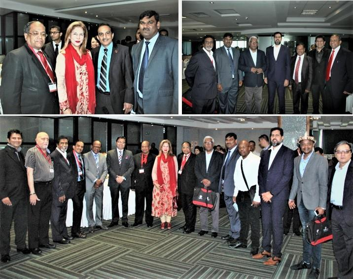 People assembling for GOPIO Africa Business Summit in Durban, May 20, 2017