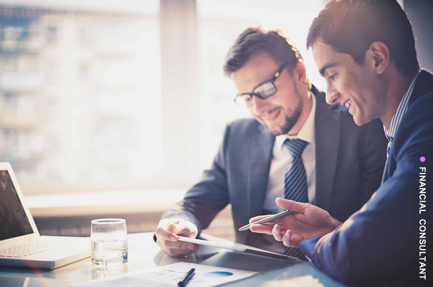 financial consultant: a business for a specialist