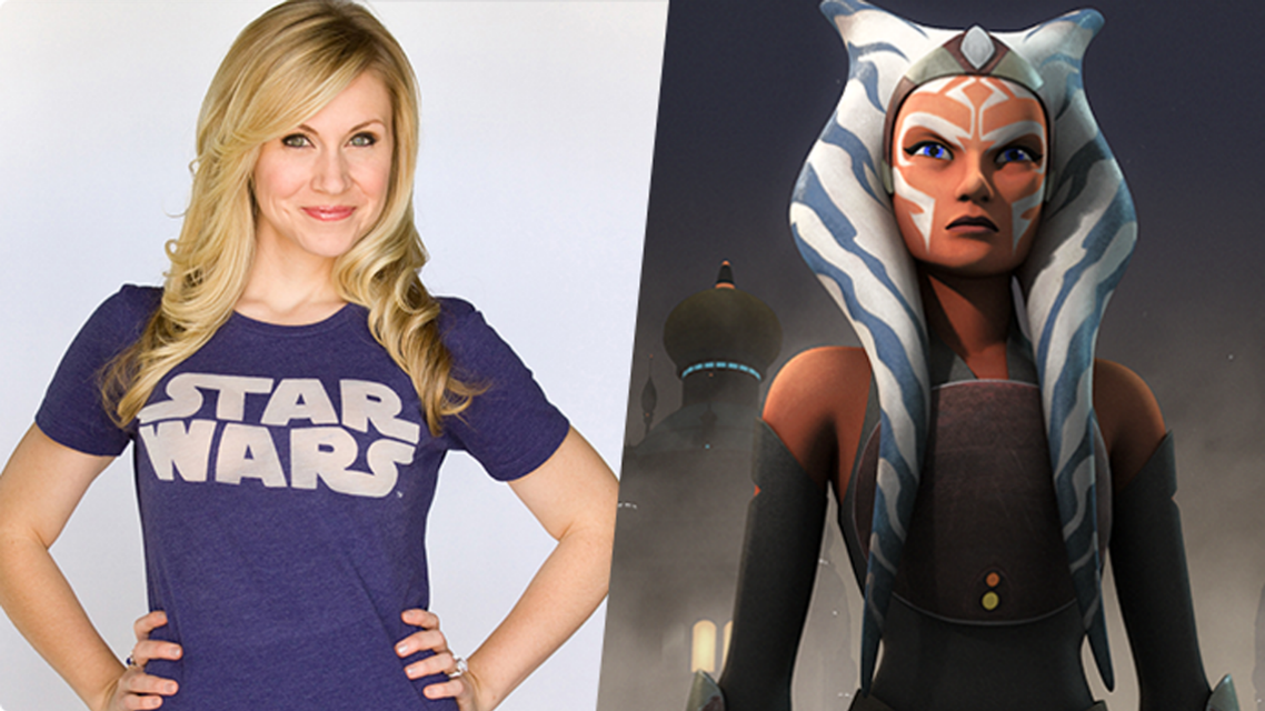From The Clone Wars to Rebels: Ashley Eckstein on Ahsoka Tano's Journey |  StarWars.com