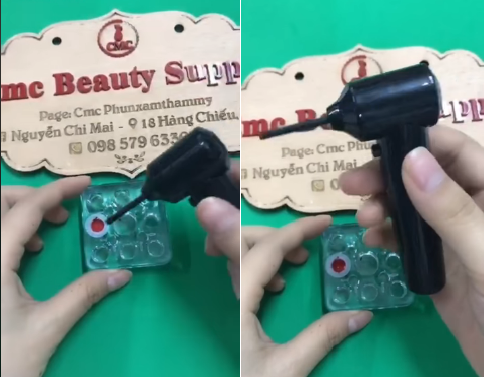 Máy khuấy mực xăm cầm tay dùng pin - Giải pháp mix mực không vón cục tiện lợi dễ sử dụng