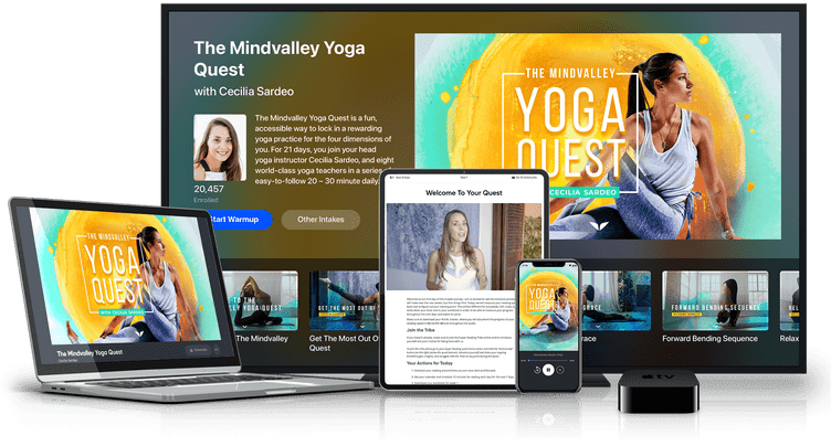 Online The Mindvalley Yoga Quest Course by Mindvalley