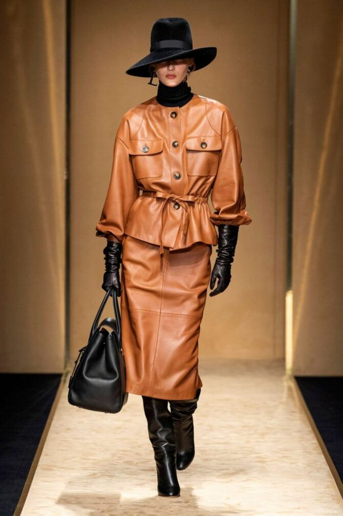 Leather raincoats 12