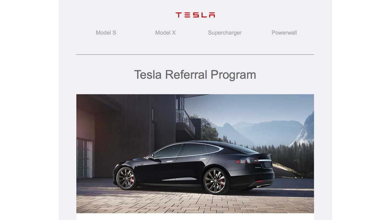 tesla referral program incentives
