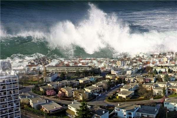 Nằm mơ thấy sóng thần