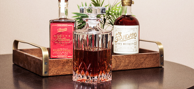 Fill Your Decanter For Spirits With Uncommon Craft
