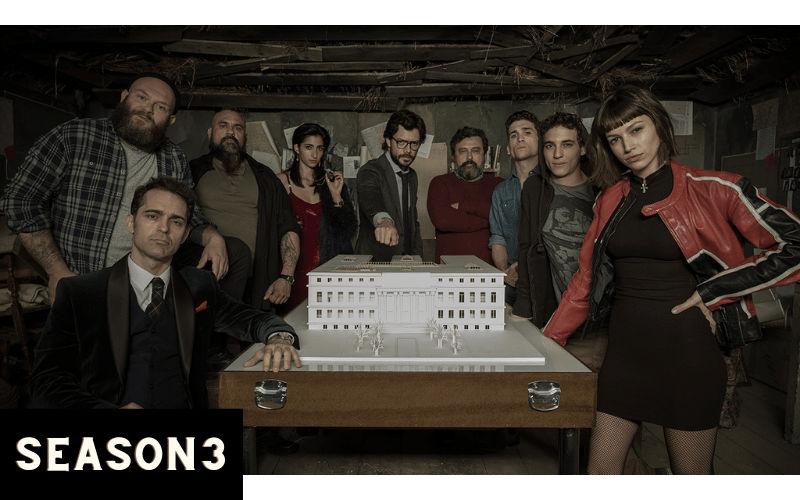 Index of Money Heist Season 3