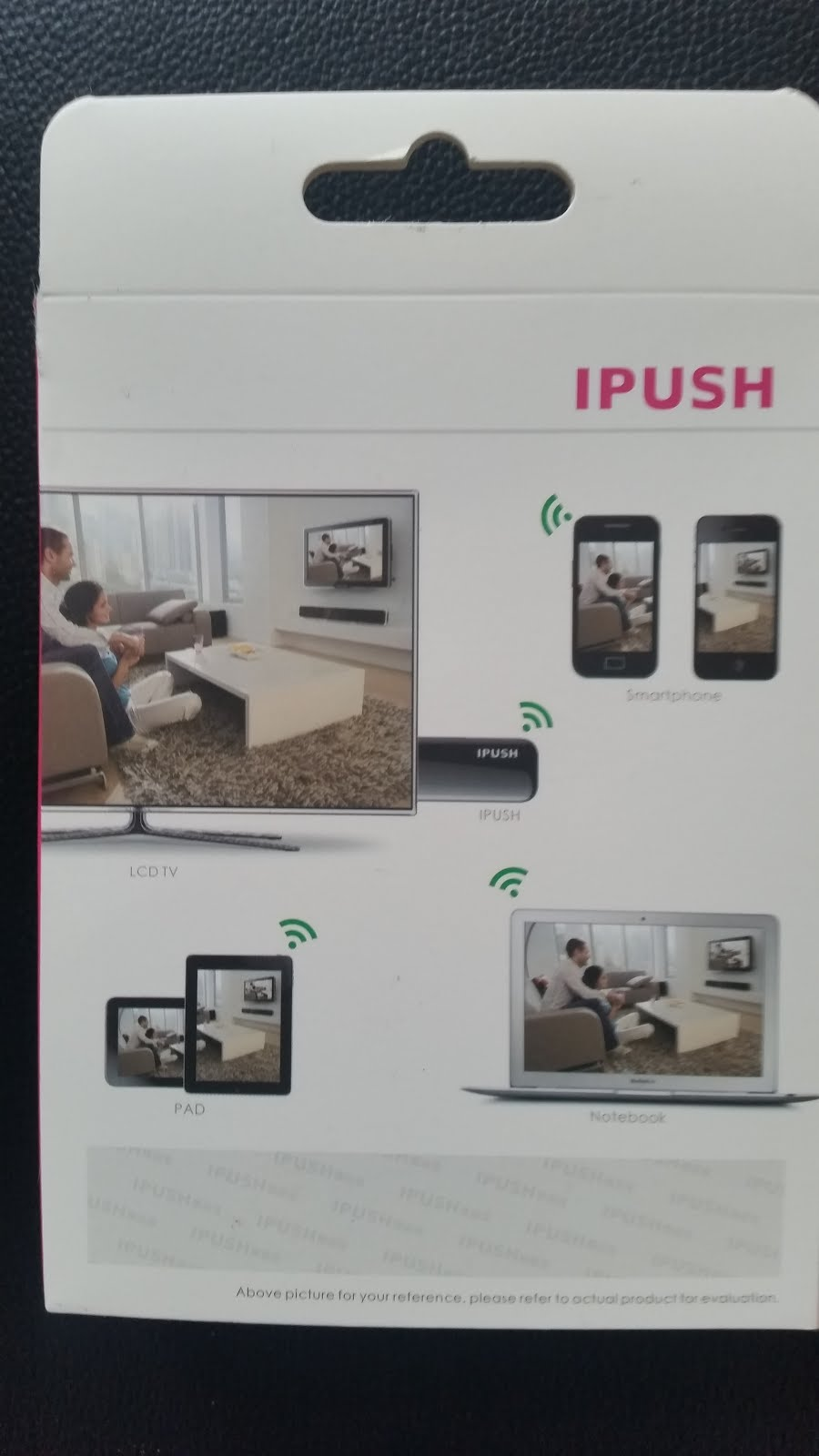 iPush Wifi TV Diffusseur USB Récepteur AirPlay DLNA pour Smartphone Tablette PC www.avalonlineshopping.com 1.jpg
